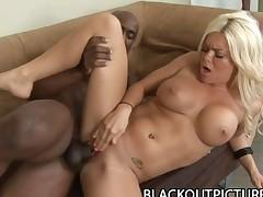 Crista Moore Beautiful Blonde BombShell Nailed