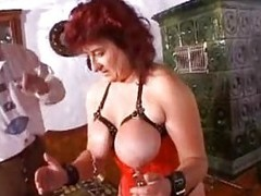 Extreme milf mother granny unnatural huge dildos and bizarre bdsm pussy torture