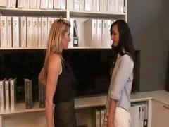 Lesbian Office Seductions 6. Part 2