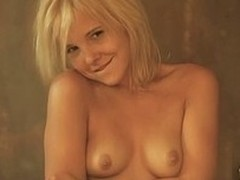 Innocent looking barely lawful blonde girl Angel gets naked to near a shower. She shows off will not hear of lovely body and so still under the shower. She poses for you and touches herself.