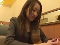 Japanese slut banged in beat-up pantyhose