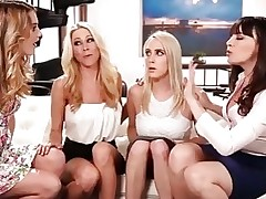 Evil Stepmoms Pussy Take up with the tongue Daughters