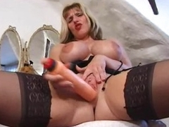 British milf in a fun tease of their way hot body
