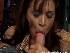 Devon Michaels can't sleep elbow ignorance until she gets a throbbing cock in her mouth
