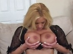 Big titted babe Shyla Stylez is hammered in her heels