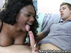 Danny Wylde cant wait any longer to shove his tool in ultra sexy Nyomi Banxxxs snatch