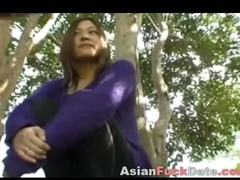 Big-busted Thai Teen Fucked in Public