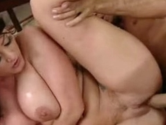 Big-assed Sophie Dee enjoys get under one's power supply dick ripping her love tunnels until she cums
