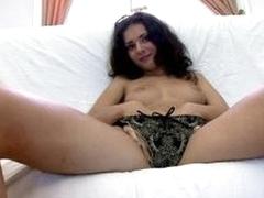 Adorable brunette russian honey Sonya inside the 3some