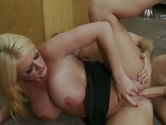 Busty blonde has made love by James Dean