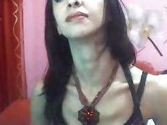 Horny Ladyboy Masturbate Her Cock