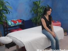 Breasty Teen Fucks Massage Therapist