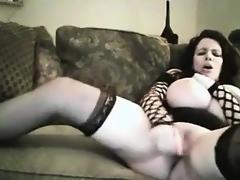 Perfect Big Tits Masturbating On Cam