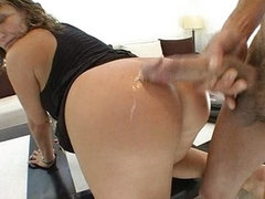 Cougar Ava Devine wants some simmering load on say no to meaty butt after fucking