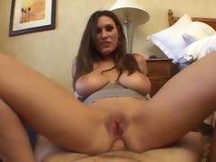 Busty Beauty POV Anal Sex