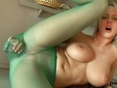Mendy isn't able prevalent live without prevalent dig out her pussy around xxx toy through nylon