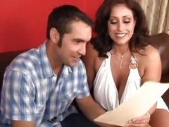 Magnificent MILF Eva Notty bags a horny dude