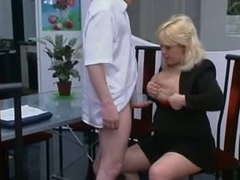 Lustful Grey Russian Peaches Fucked By Young Guy