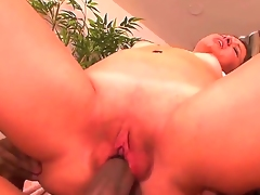 Teen Leenuh Rae feels great with mans throbber deep in her fuck hole