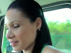 All nasty babes prefer to hang out with strangers and today we are going to show you a good example of one kinky slut, who likes to make unfathomable blowjobs. Moreover, she is doing it in a car