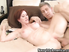 Danny Wylde is horny and cant wait any longer to screw With huge hooters and bald bush
