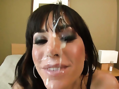 Bill Bailey bangs magically sexy Gia DiMarcos mouth just like mad