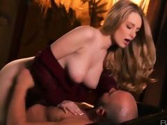 Gorgous busty blonde doll Stacie Jaxxx acquires boned