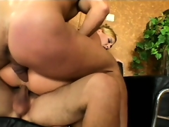 Elena is desperate to feel both cocks in her horny holes at once