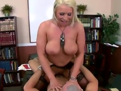 Blonde Office honey Sadie Swede screwing To Make the person Focus