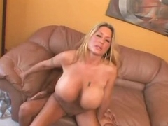 Curvy huge tits milf fucked in her cunt