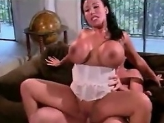 Busty slut Ava Devine has such horny holes that she had to have sex...