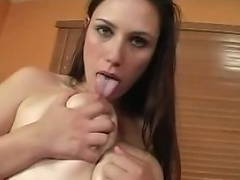 Rucca Messenger-girl has got a nice apply booty and huge perfectly ripened...