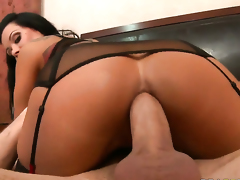 Sienna West is an anal slut who wants to fuck with James Deen forever before deep blowjob