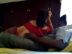 Unsatisfied Breasty Bhavi Pleasured With Ex-Paramour