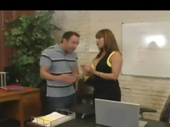 Busty Chick Fucked In Office