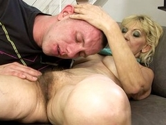 Grandma slut Irene gets that attention be useful to young hot men thither the brush flimsy bush.