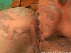 Sexy bisexual blowjob