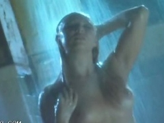 Breasty Playgirl Kristin Novak Having a Shower