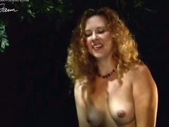 Fleshly Athena Demos Shows Her Pantoons in an Outdoor Sex Scene