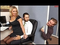 Tanya is in love with her co-worker Pete and tries to hook up with him each chance this babe gets. The solely problem is TJ, the knob blocker of the office will at no time let him have her.