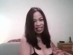Hot lady wants to make a good sex tape and asks her friend to help her out. He receives in screen and that babe puts on the best BJ show that babe can. He touches her too and displays her big tits and very hard nipples.