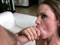 Bitchy Mckenzie Lee receives splattered with hawt cum on her Messy Face hole