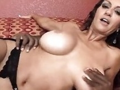 Busty milf needs a creampie to break forth