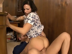 Juelz Ventura gets naughty only in her office, because only here she feels power. Her employee, Danny Wylde, has a delicious cock and she prefers to swallow it time by time