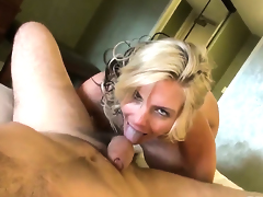 Phoenix Marie suggests her back yard to Manuel Ferrara after she gets her throat used