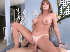 Darla Crane cant live a day out of getting her back yard fucked by hawt guy Johnny Sins