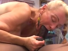 Granny gets creampied by juvenile BBC