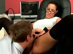 super hot office fucking
