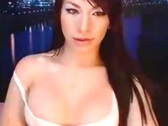 Big Tits Tranny Masturbate