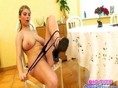 Katrin Kozy orgasm with toys